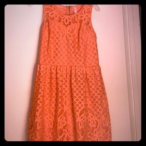 Peach Xhilaration Dress